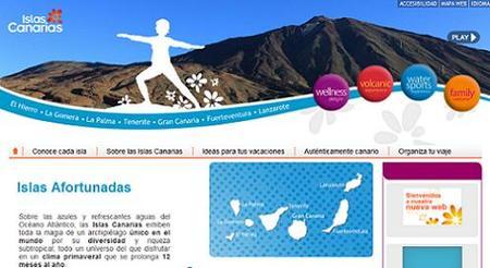 Nueva web de Turismo de Canarias
