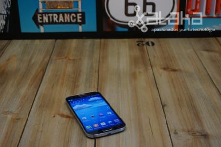 Samsung Galaxy S4 en tabla