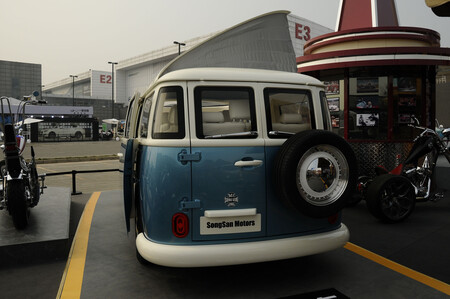 Songsan Summer copia china volkswagen transporter 4