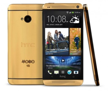 El HTC One de oro existe, cinco unidades exclusivas a 4.400 dólares