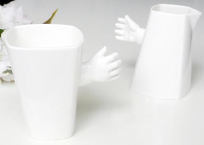 Taza y jarra muy originales