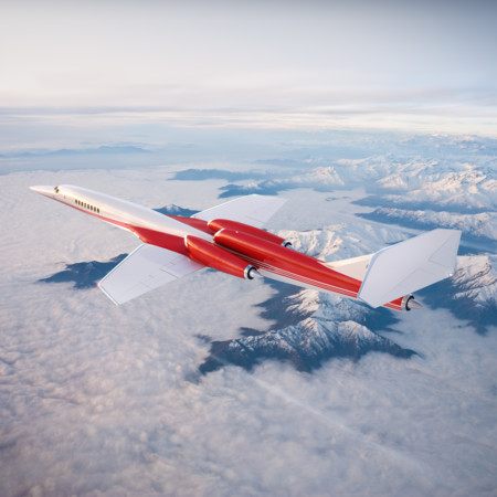 Aerion As2 In Flight Mountains Hr