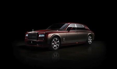 Rolls-Royce presenta su nuevo coche Pinnacle Travel Phantom en el Auto China 2014