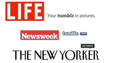 Tumblr es también un lugar para los medios de comunicación