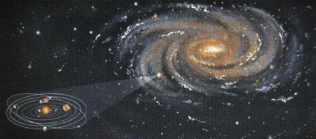 Resultado de imagen de La Vía Láctea