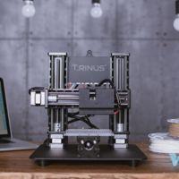 Trinus, una impresora 3D más grabadora láser hecha de metal y por menos de 300 dólares