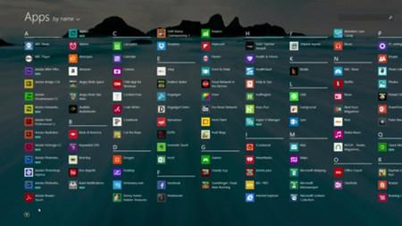 Aplicaciones en Windows 8.1