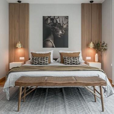 Los bancos a los pies de la cama mas deseados por los decoradores están en Zara Home