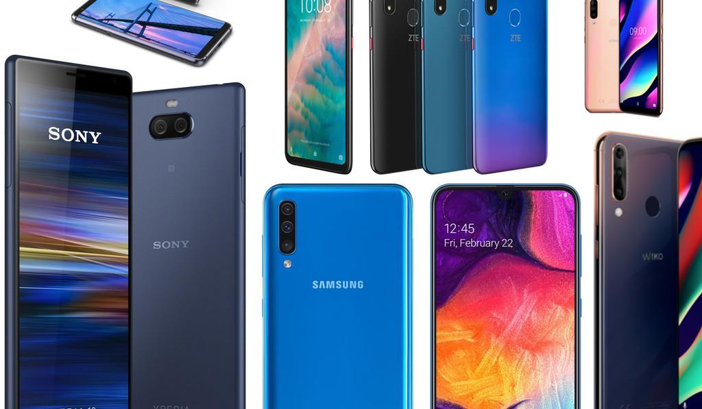 De Sony℗ a Wiko℗ pasando por Alcatel: los smartmoviles de gama media y de entrada que hemos visto en el Mobile-World-Congress 2019