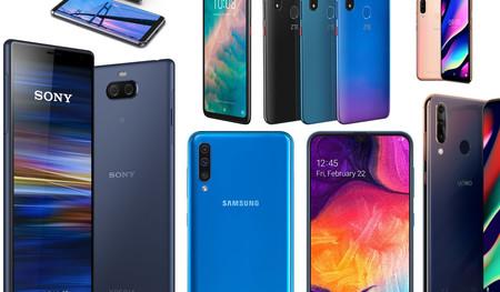 De Sony a Wiko pasando por Alcatel: los smartphones de gama media y de entrada que hemos visto en el MWC 2019
