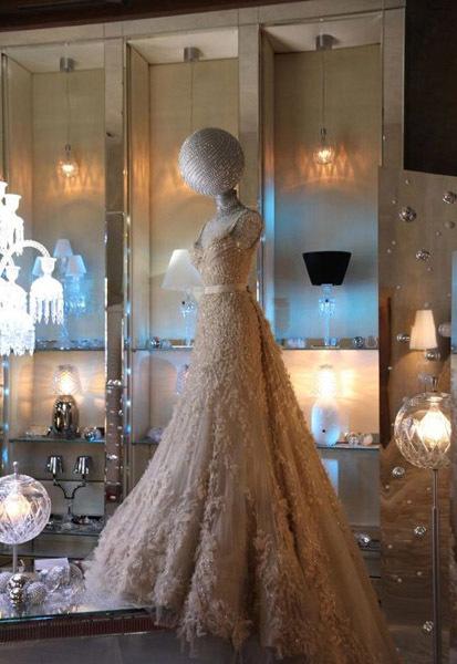 Vestido Luna de Elie Saab en Baccarat