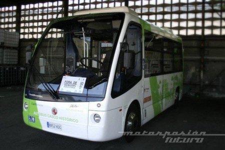 Vigo retira el autobús eléctrico de sus calles
