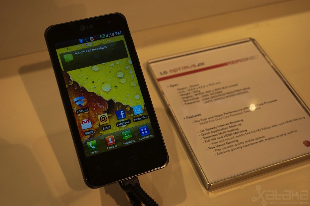 Foto de LG Optimus 2X en MWC 2011 (1/5)