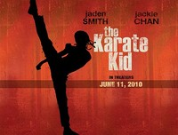 'The Karate Kid', primer cartel e imágenes del rodaje