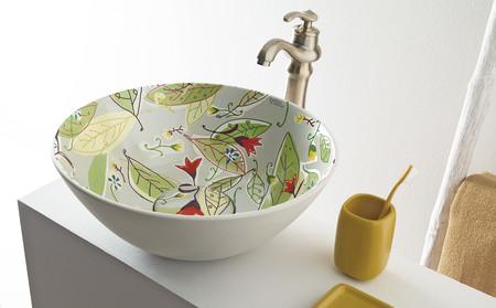 El otoño se cuela en el baño con los diseños de Javier Mariscal