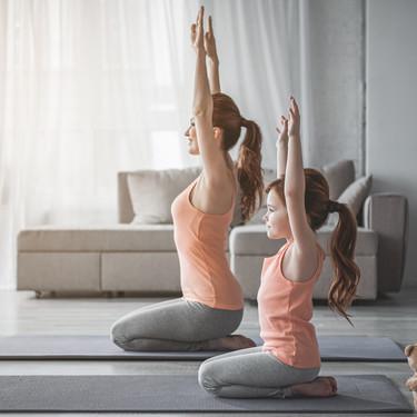 Yoga, meditación y relajación para ayudar a los niños a mantener la calma durante la cuarentena