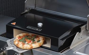Horno de piedra para pizza que no necesita energía