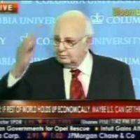 """Paul Volcker: """"estamos en la madre de todas las crisis financieras"""""""