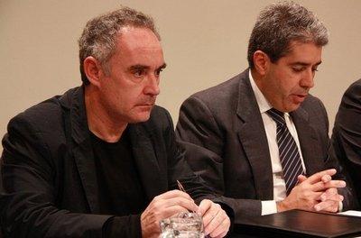 'El Bulli i Ferran Adrià: risc, llibertat i creativitat', muestra en el Palau Robert de Barcelona en el 2012