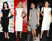 Vestido de Rouland Mouret: ¿Dita, Heidi, Jennifer o Beyoncé?