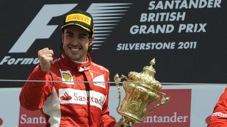 Alonso Silverstone F1 2011