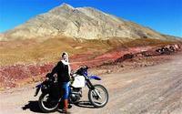 Viajera y motera, sola por Irán