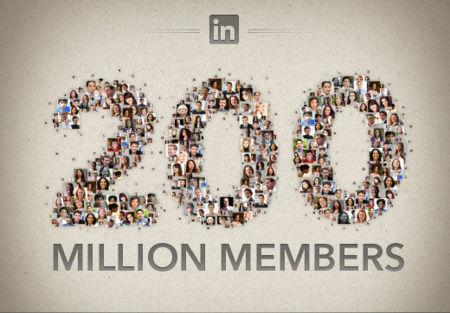 LinkedIn alcanza el hito de 200 millones de usuarios