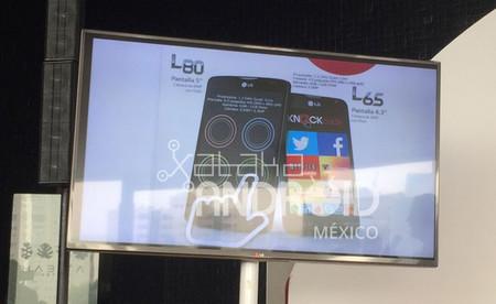 LG L65 y L80, los nuevos integrantes de la L Series III que llegarán a México