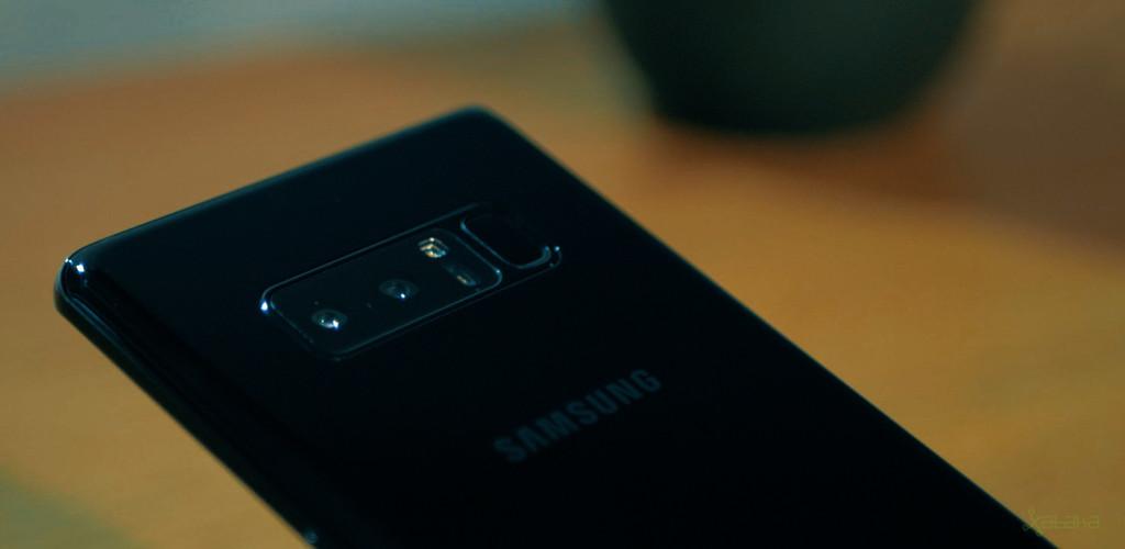 Samsung Galaxy Note 8 doble cámara