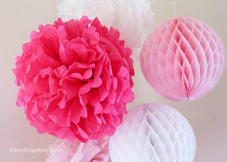 Manualidades Cumpleanos Flores Papel Seda