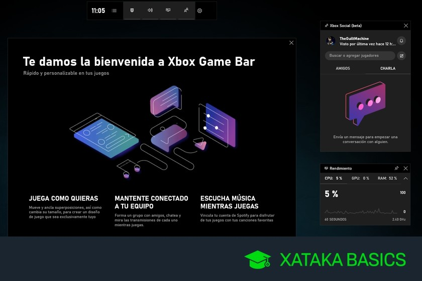 Windows 10: cómo es y activar la nueva barra de juegos, y ...
