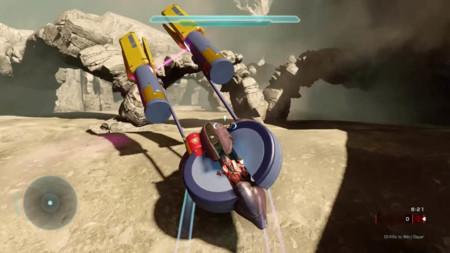El editor de Halo 5 contraataca: un fan crea un nivel jugable basado en las carreras de vainas de Star Wars