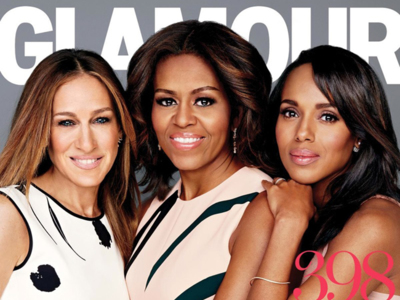¿Qué hace la Primera Dama con Sarah Jessica Parker y Olivia Pope en una portada de moda?