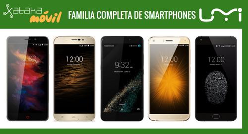Así queda el catálogo de móviles UMI tras la llegada del metálico UMI MAX