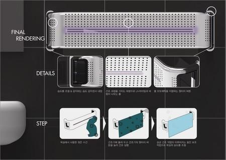 Conceptos innovadores para el hogar inteligente toallero - Secador de toallas ...