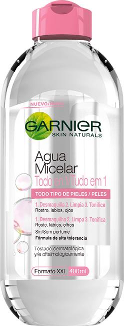 Nueva agua micelar de Garnier, ¡por fin una opción más asequible!