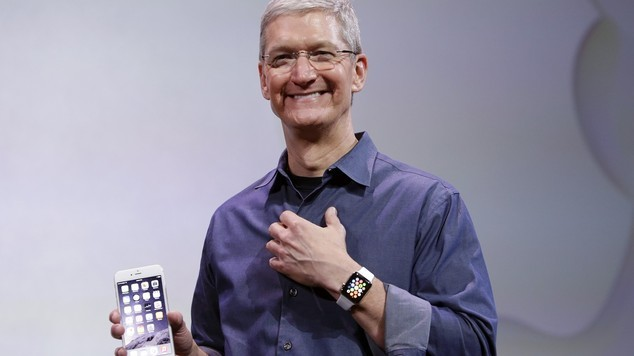 Tim Cook Appla Watch