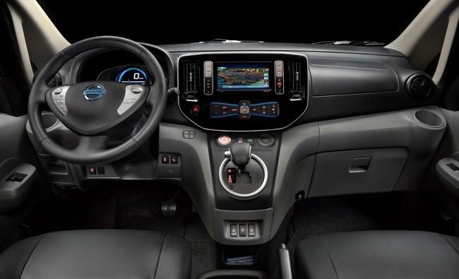 Nissan e-NV200 taxi eléctrico Barcelona 03