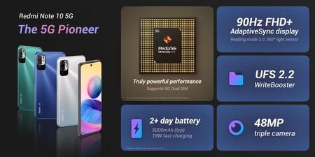 Xiaomi Redmi Note 10 5g Lanzamiento Precio Mexico