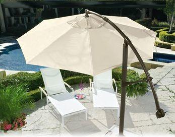 Cantilever Umbrella: 360º de sombra