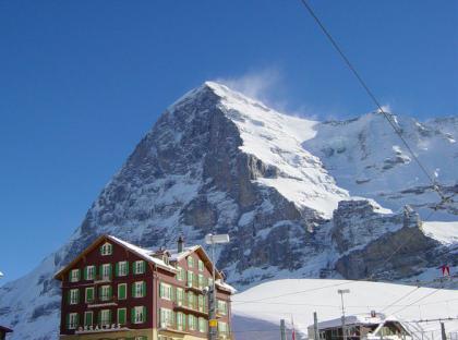 Descenso del Eiger (Suiza)
