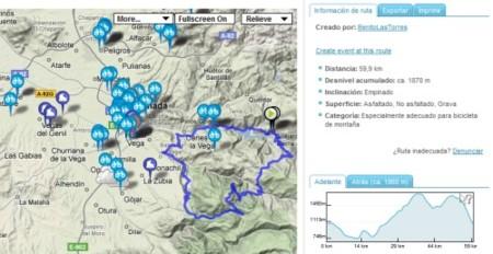 Runmap: un buen sitio para buscar rutas de carrera, bici, patines y montaña