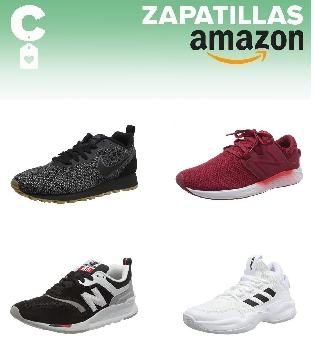 Chollos en tallas sueltas de  zapatillas Nike, New Balance o Adidas en Amazon