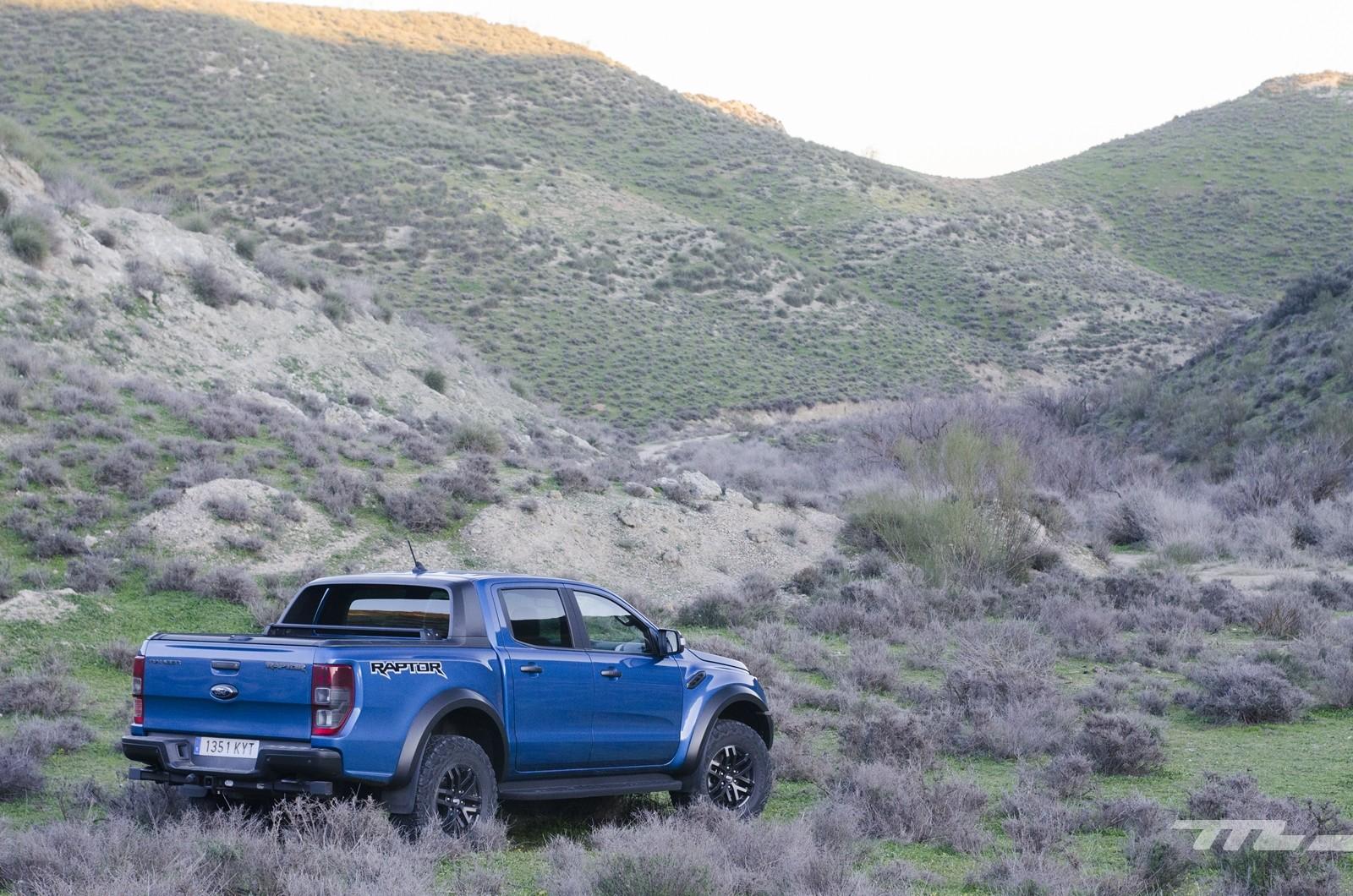 Foto de Ford Ranger Raptor 2020, prueba (28/36)