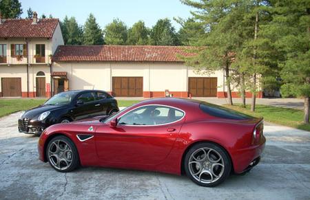 Alfa MiTo y 8C Competizione