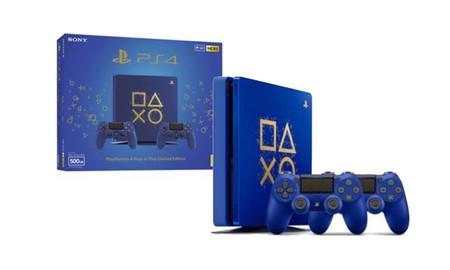 Por sólo 289,95 euros, este Super Weekend de eBay podrás estrenar una PS4 Edición Limitada Days of Play con 2 DualShock 4