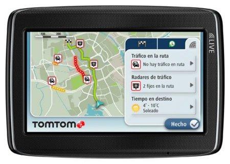 TomTom Go Live 800 potencia los servicios Live de la marca