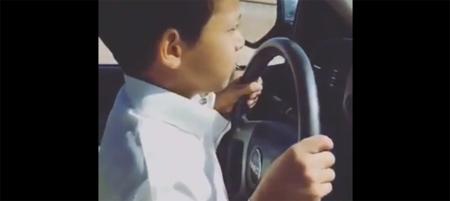 Si no has visto al niño que conduce a 200 km/h, ya estás tardando