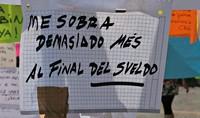 El sueldo mediano en España ronda los 15.500 euros