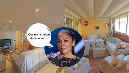 Este es el ático que Isabel Pantoja vende en Fuengirola por 1 millón de euros (y con un vestidor salido de 'El Resplandor')